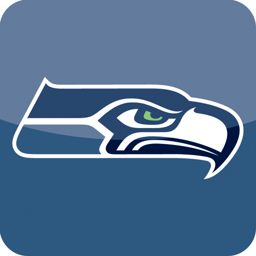 Black And White Seahawks Logo Pictures to Pin on Pinterest ...