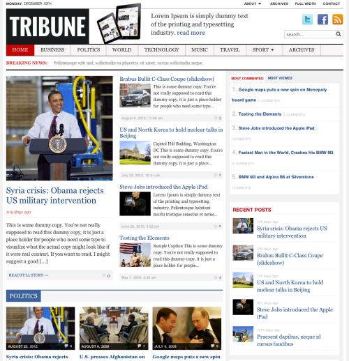 <h3>Tribune</h3>