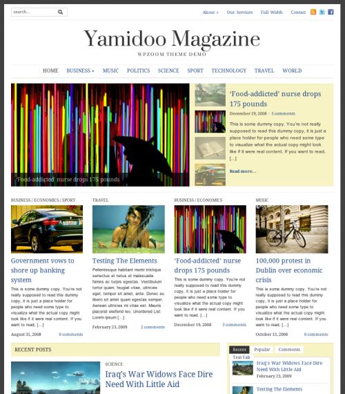 <h3>Yamidoo magazine</h3>