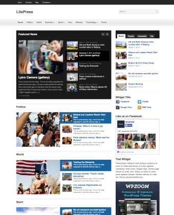 litepress-news-theme