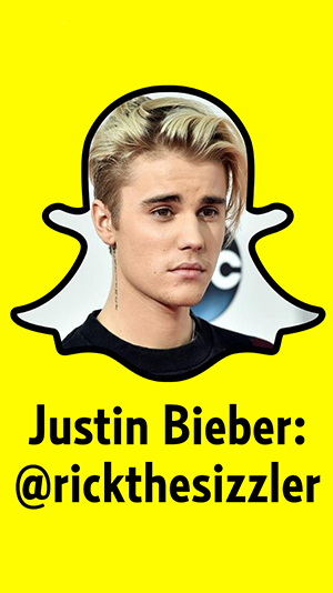 Celebrity snapchat usernames real clear