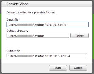 convert 360 video ricoh theta
