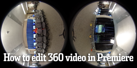 how to edit 360 video in premiere