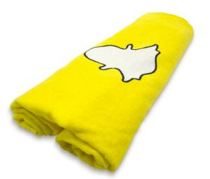 social media gifts snapchat towel