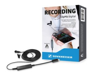 seinnheiser clipmic digital