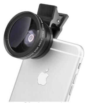 clip-on-smartphone-lens